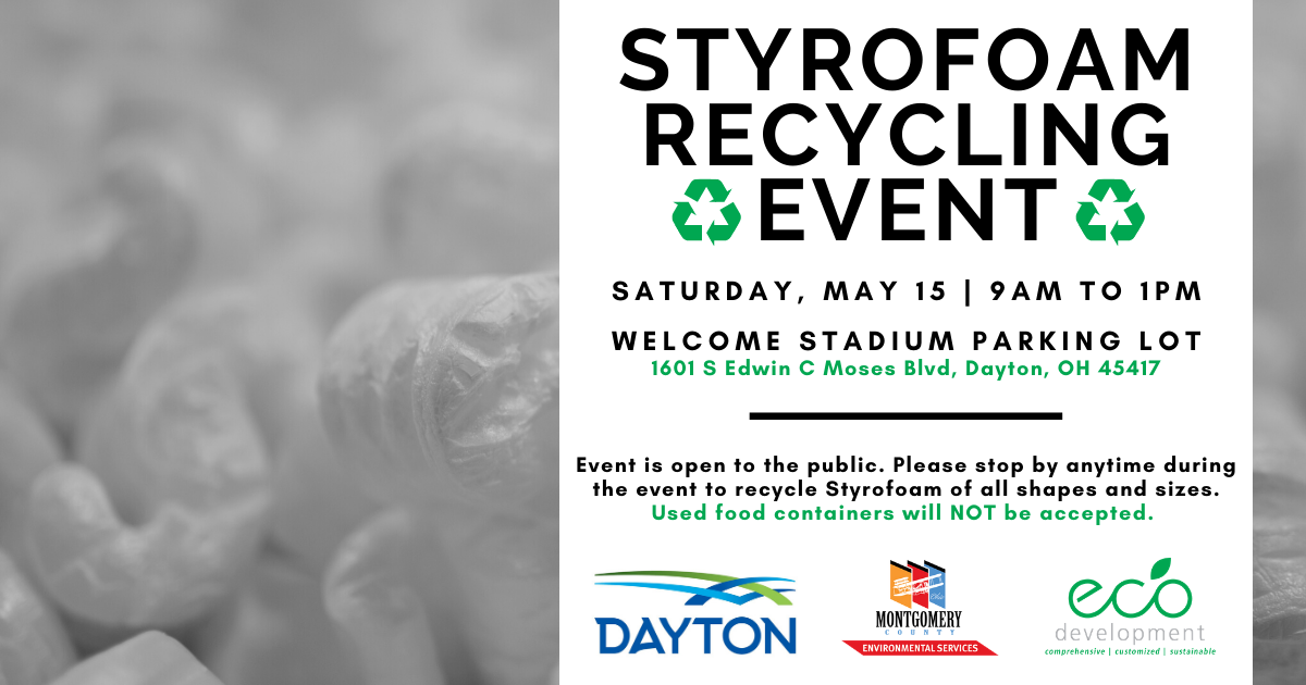 May Styrofoam Recycling Event