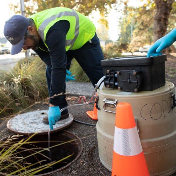 Sewer-Manhole
