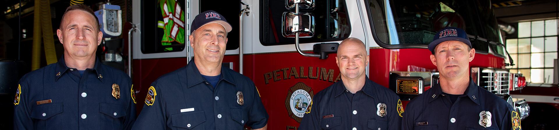 banner image of firemen