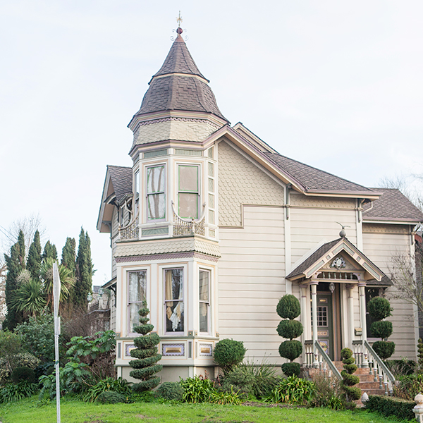 photo of a historic home