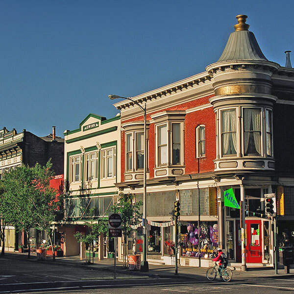 photo of historic streetscape