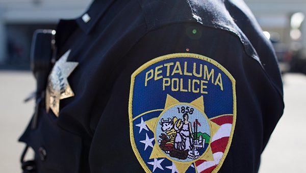 photo of Petaluma Police patch