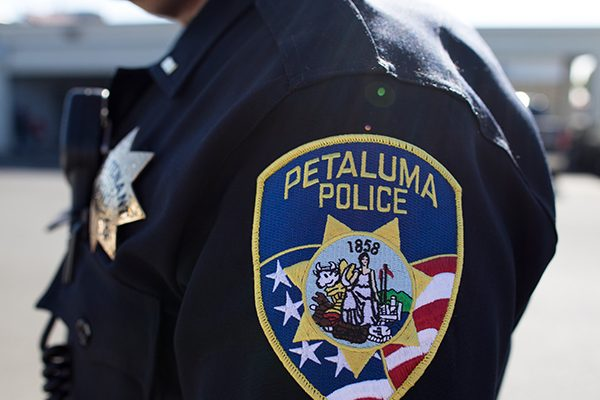 photo of Petaluma Police patch
