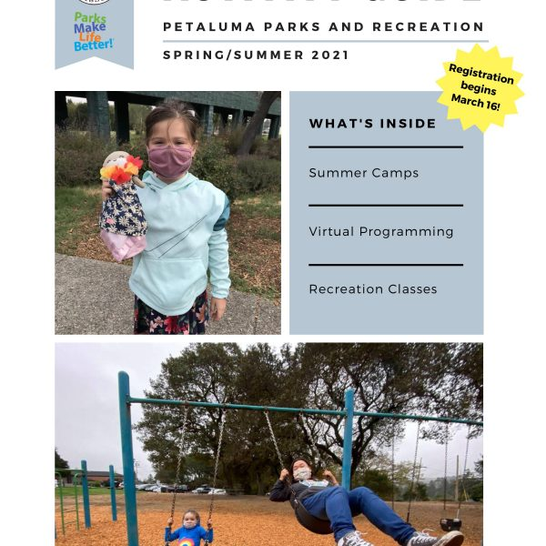 Front Cover of Spring/Summer 2021 Activity Guide