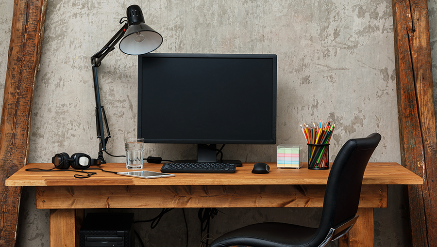 photo of desk