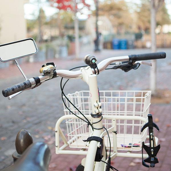 bike view from handlebars