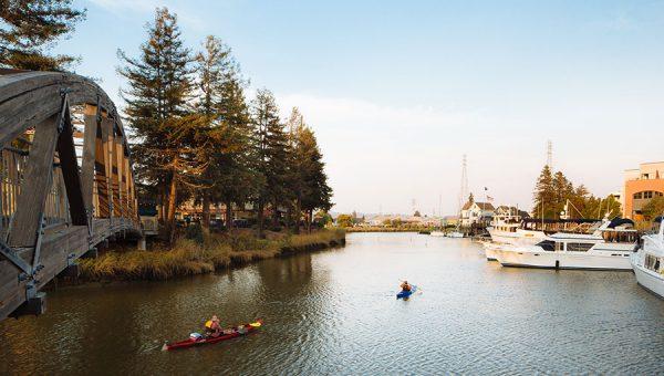 photo of Petaluma River
