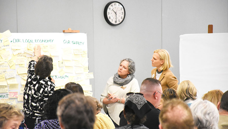 photo from the community workshop