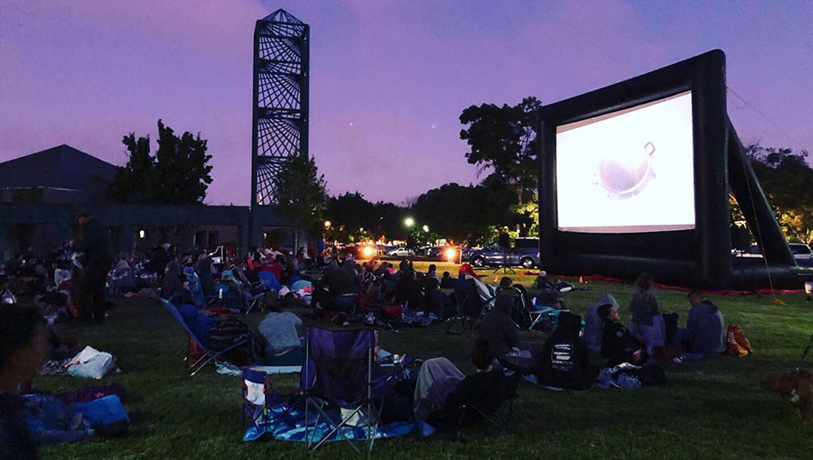 photo from Movies in the Park