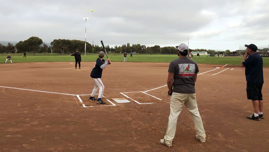 photo of softball league