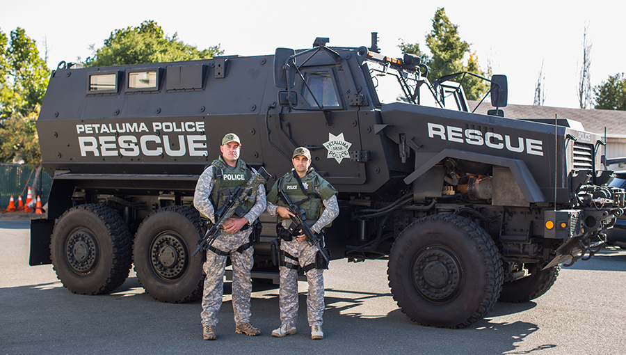 photo of swat rescue