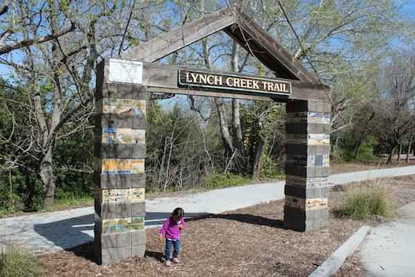 lynch creek trail sign