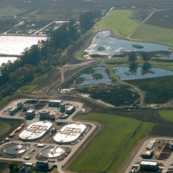 photo of ellis creek water recycling facility