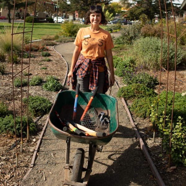 photo of person gardening