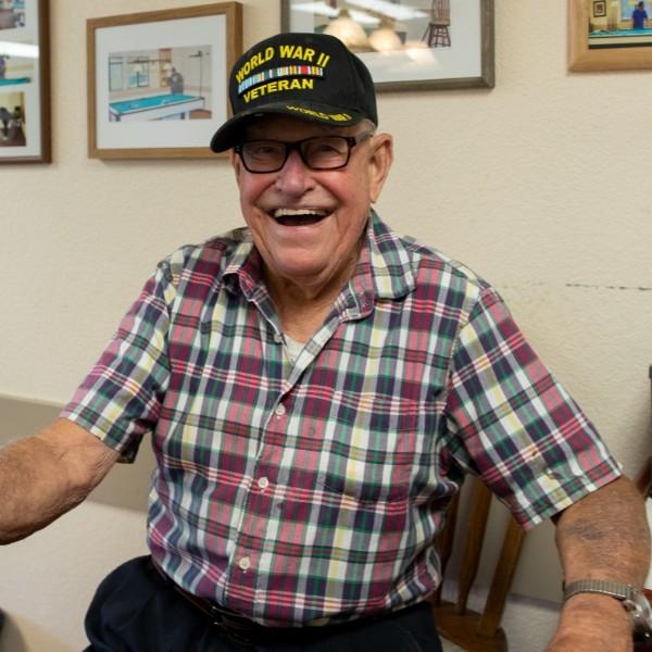 photo of senior citizen