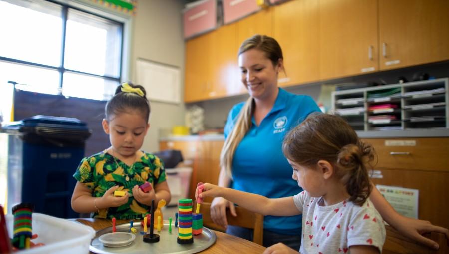 photo of preschool classroom