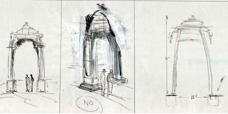 Gateway Concept Sketch