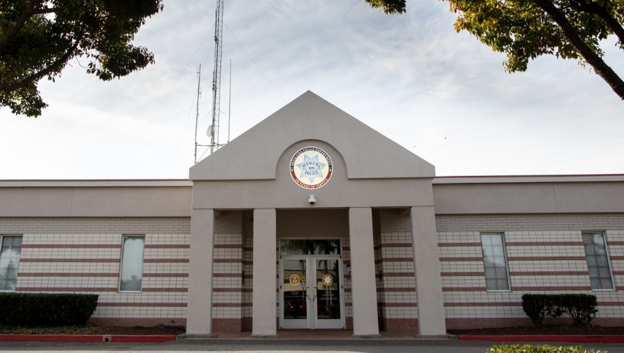 Petaluma Police Department Front