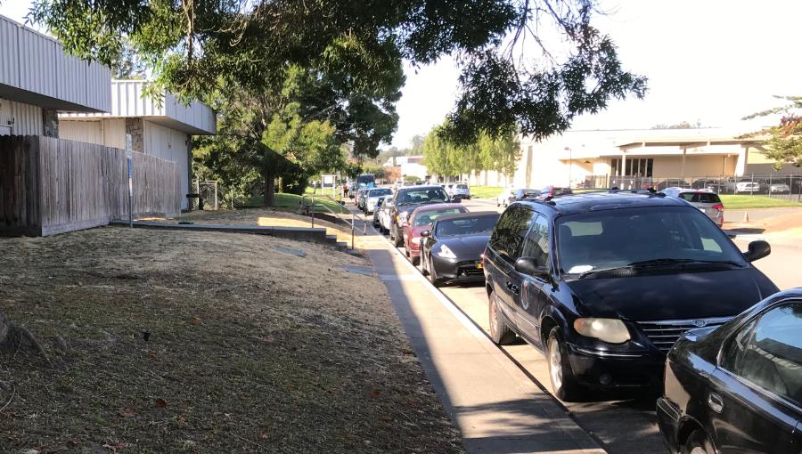 photo of transport way in Petaluma