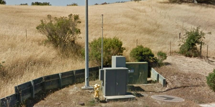 photo of victoria pump station Petaluma California