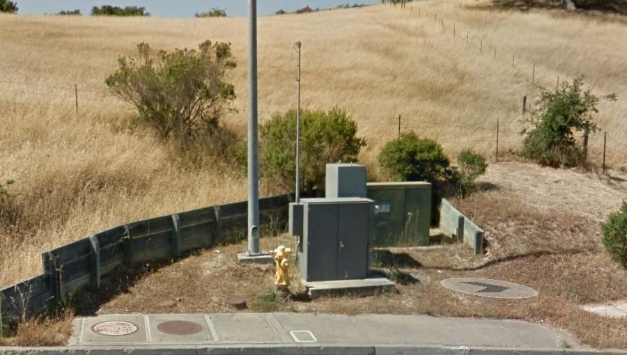 photo of Petaluma pump station near Victoria Estates