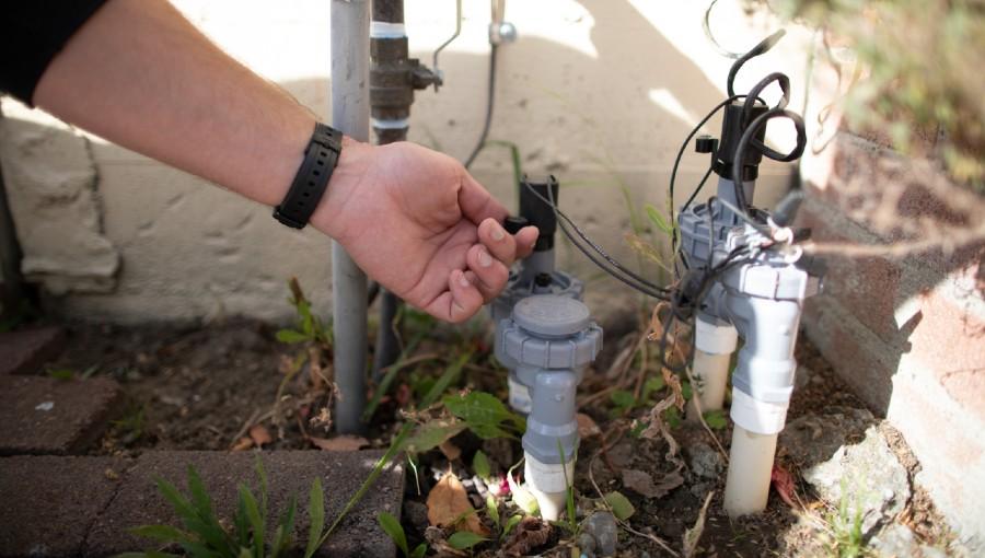 smart irrigation controller photo