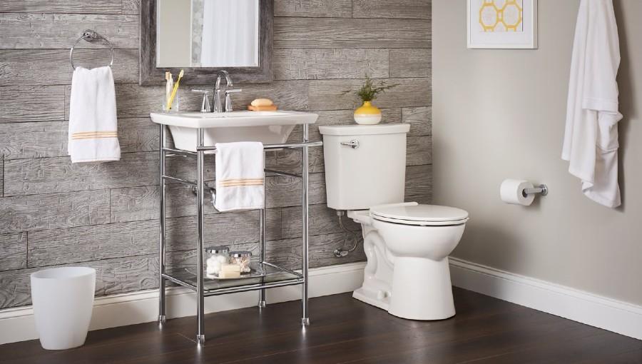 photo of high efficiency toilet