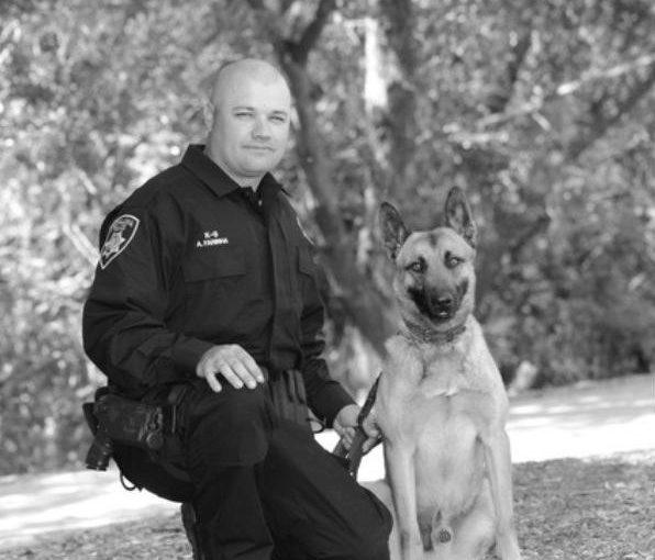 police canine team