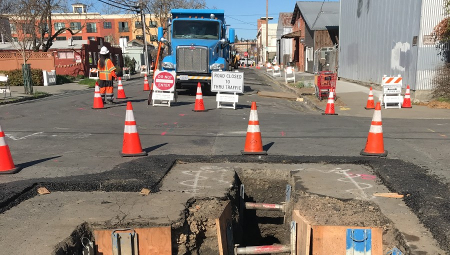 PG&E Gas Main Replacement