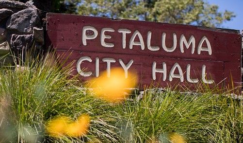 small photo of petaluma city hall