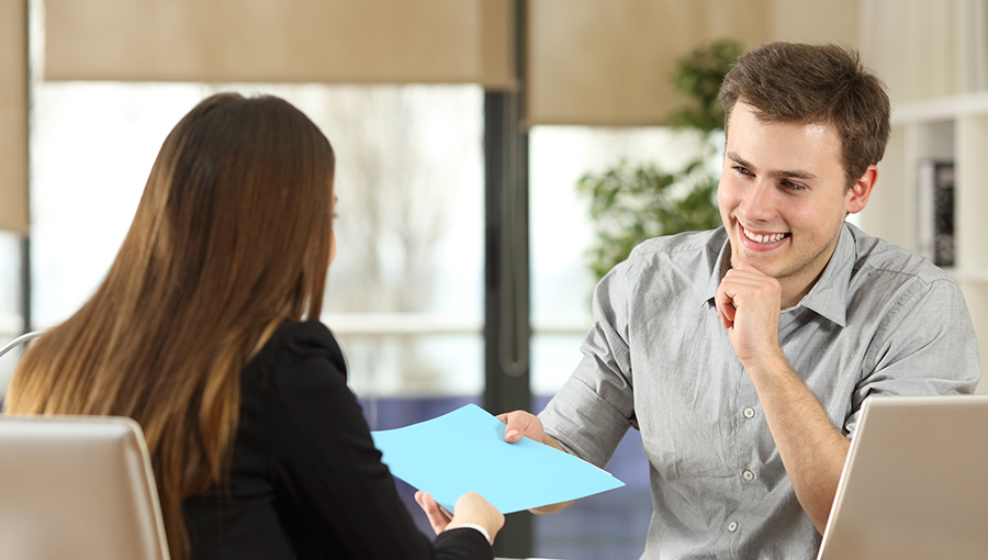 hr handing over employee forms
