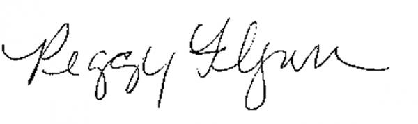 peggy flynn signature