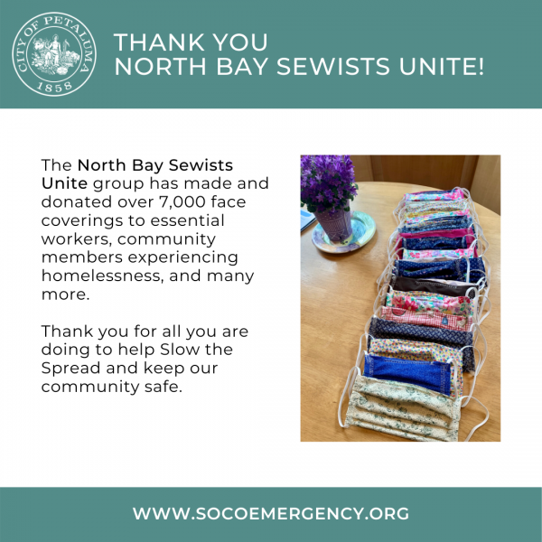 Thank You North Bay Sewists Unite graphic