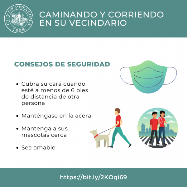 graphic on park safety tips in spanish