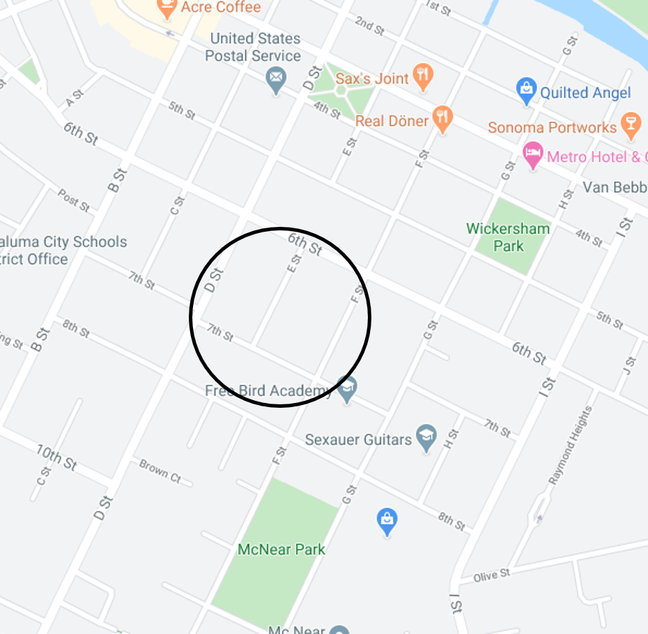 7th street map