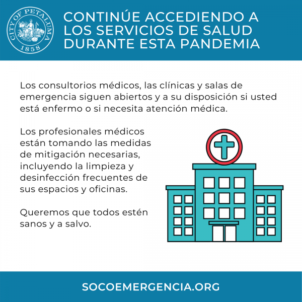 access to healthcare graphic in spanish