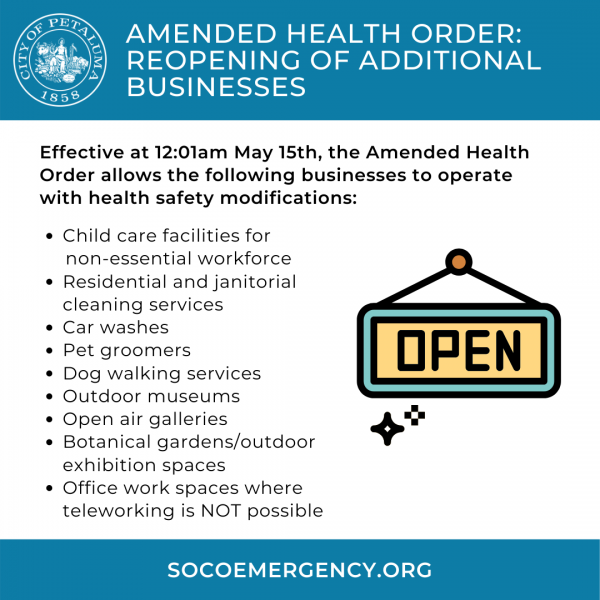 amended health order in english