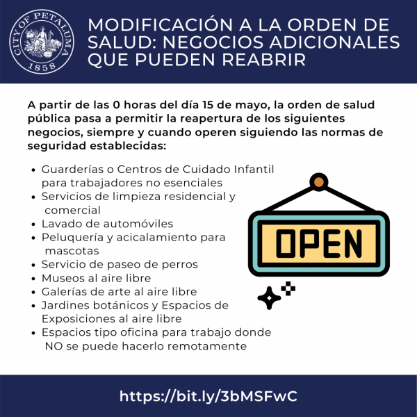 businesses open in spanish