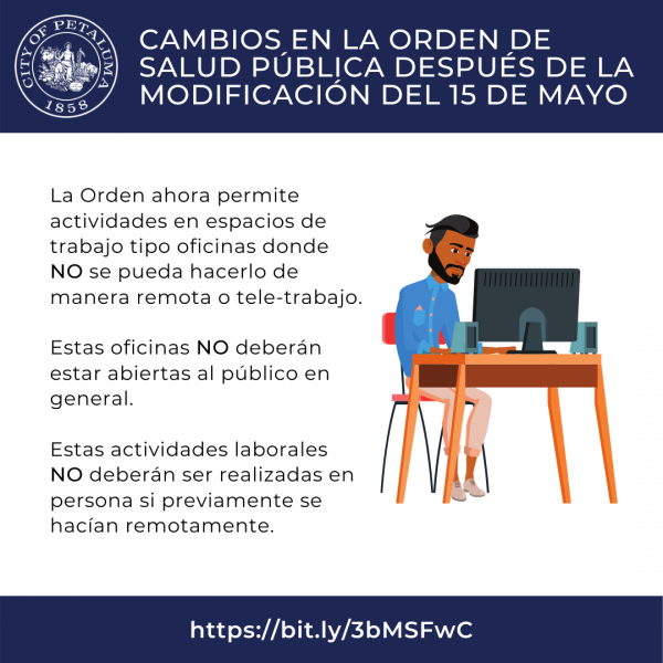 workspace restrictions in spanish