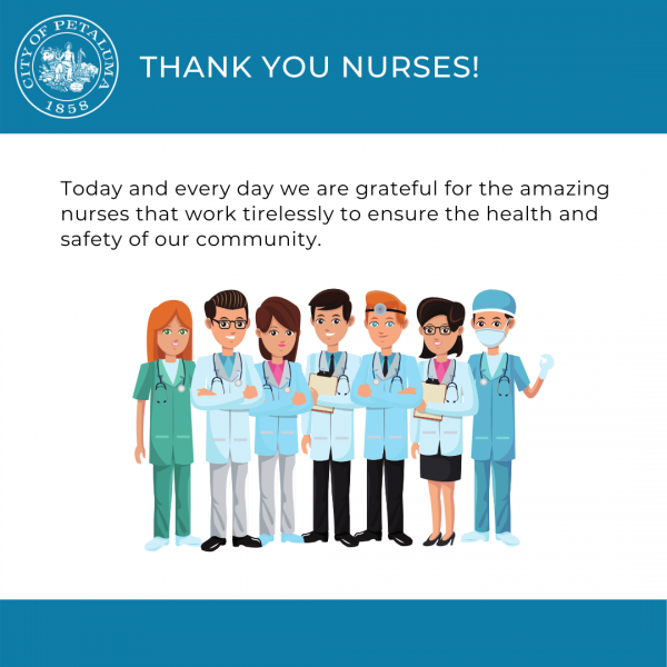 THANK YOU, NURSES