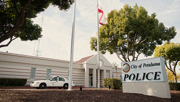 photo of petaluma police department