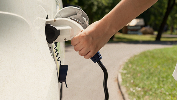 picture of charging car