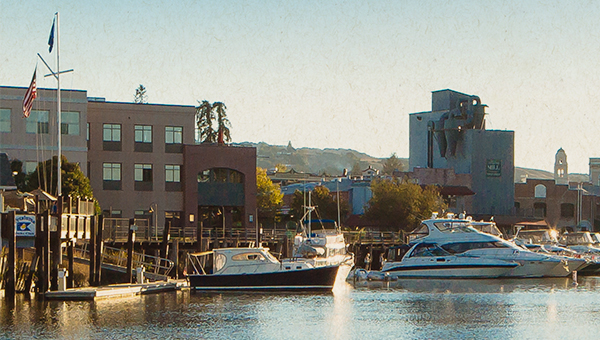 photo of Petaluma waterfront