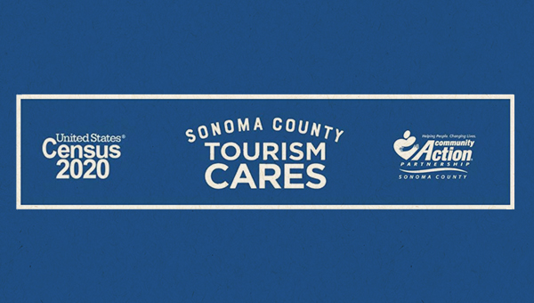 logo for sonoma county tourism cares