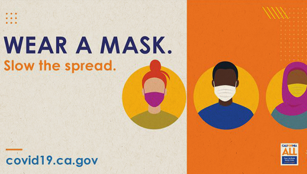wear a mask campaign graphic asset