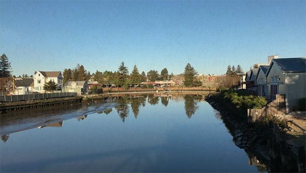 image of basin for river dredging