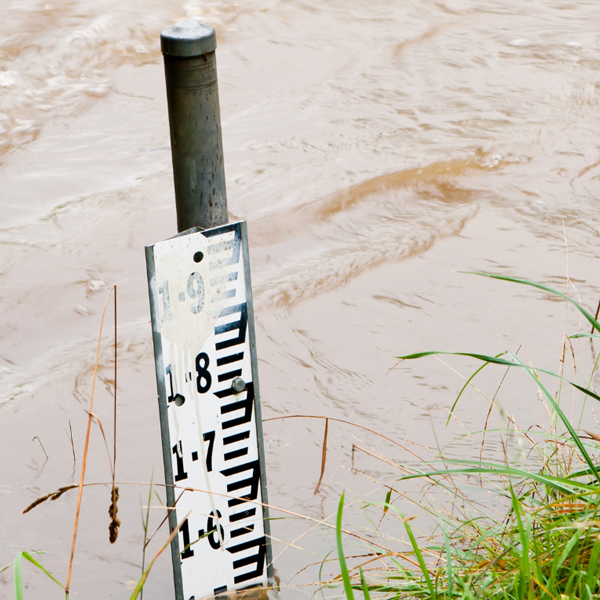 image of flood waters