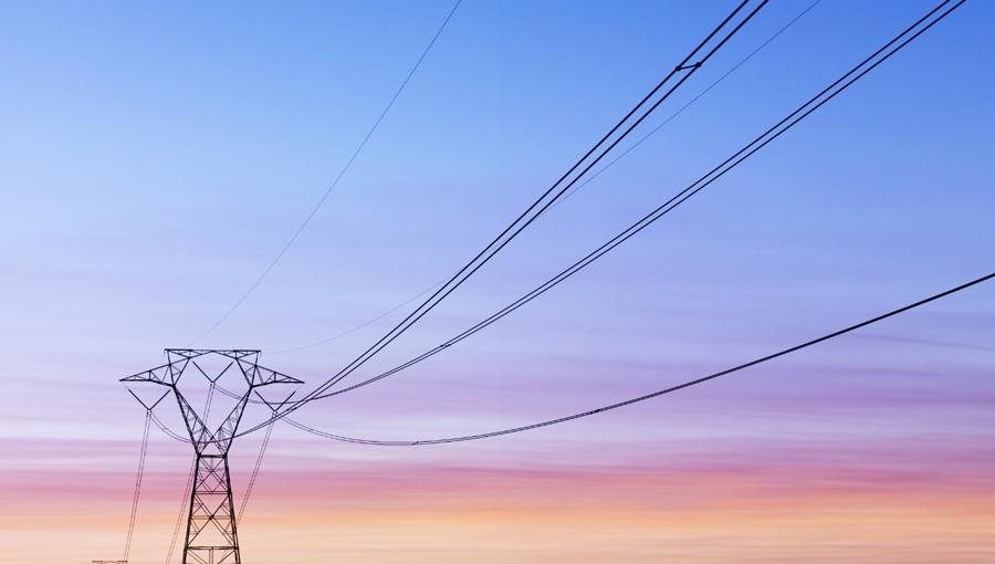 power shutoff stock image