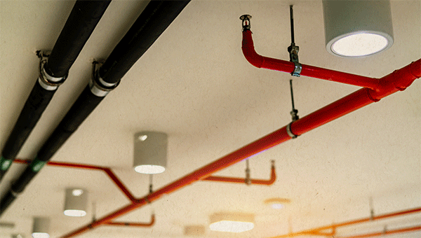 picture of fire sprinklers