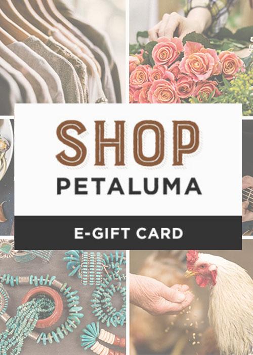 shop petaluma gift card graphic